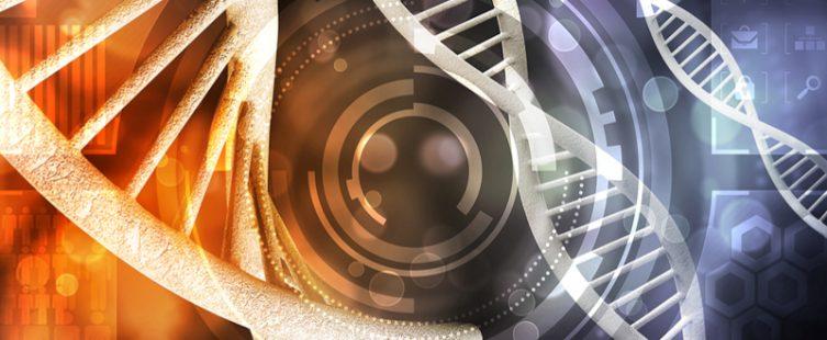 DNA strands image